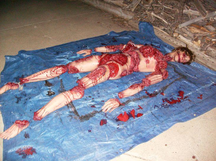 butchered body prop