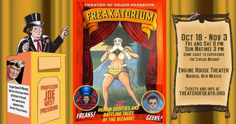 Freakatorium Banner
